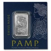 1 gram Platinum Bar - Multigram+25 PAMP Suisse (In Assay)