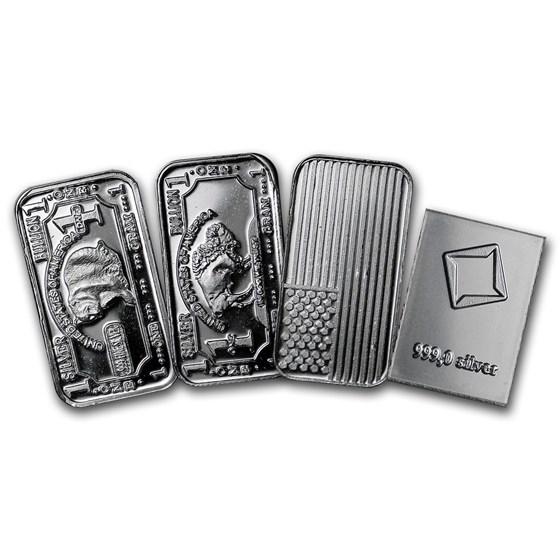 1 gram Silver Bar - Secondary Market