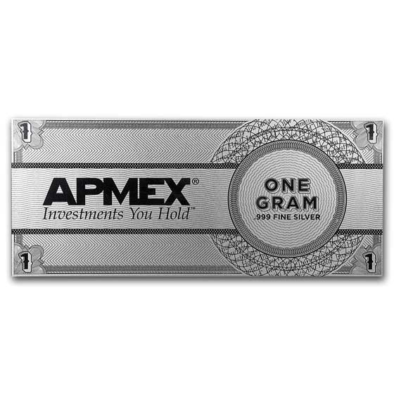 1 gram Silver Note - APMEX Eagle Design