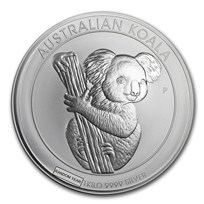 1 kilo Australian Silver Koala BU (Random Year)