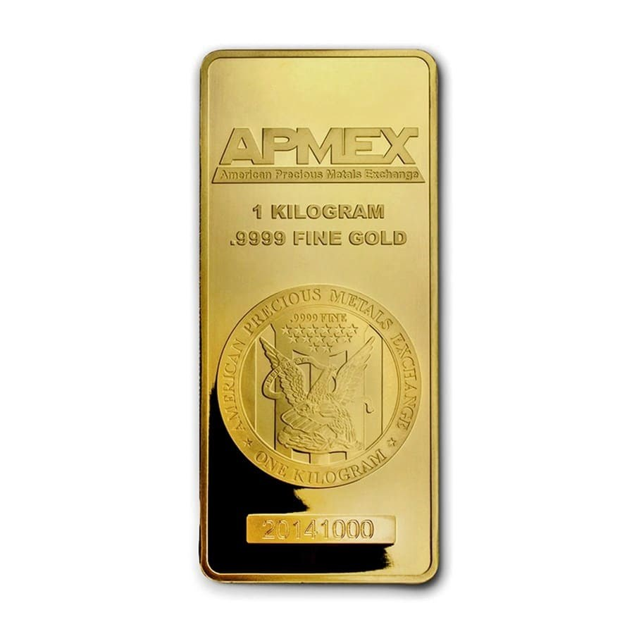 1 kilo Gold Bar - APMEX (In capsule)