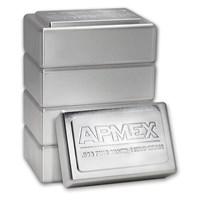 1 kilo Silver Bar - APMEX (Stackable)