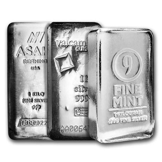 1 kilo Silver Bar - Secondary Market