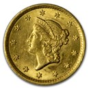 $1 Liberty Head Gold Dollar Type 1 BU (Random Year)