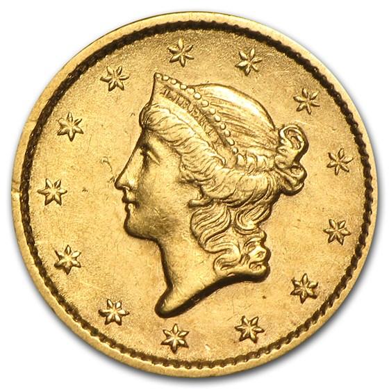$1 Liberty Head Gold Dollar Type 1 XF (Random Year)