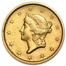 $1 Liberty Head Gold Type 1 XF (Random Year)