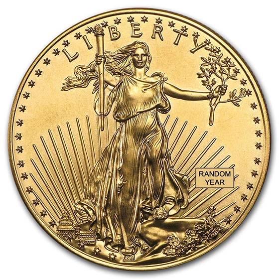 1 oz American Gold Eagle BU (Random Year)