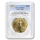 1 oz American Gold Eagle MS-69 PCGS (Random Year)