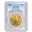 1 oz American Gold Eagle MS-70 PCGS (Random Year)