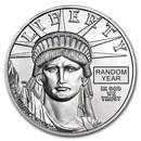 1 oz American Platinum Eagle Coin BU (Random Year, 1997-2021)
