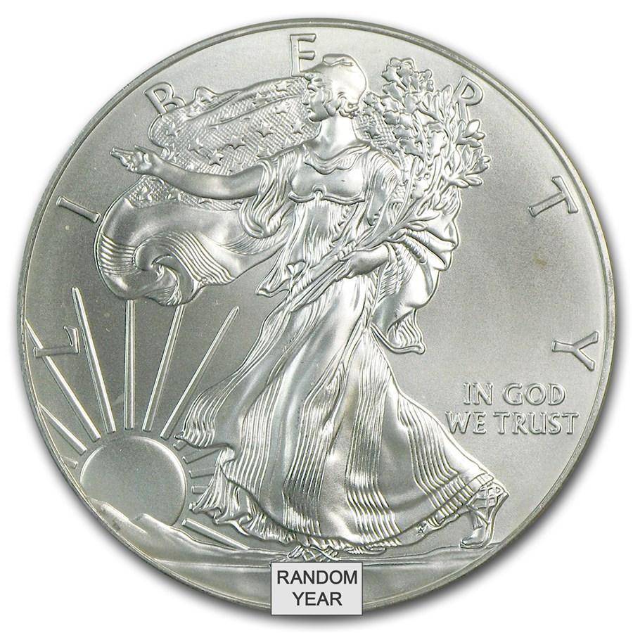 1 oz American Silver Eagle (Cull Damaged etc.)