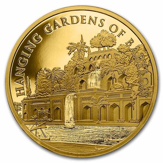 1 oz Gold - 7 Wonders of the World: Hanging Gardens of Babylon