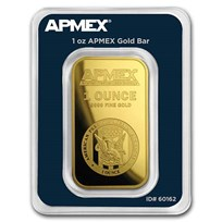 1 oz Gold Bar - APMEX (TEP)