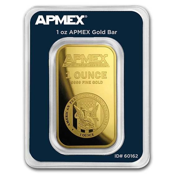 1 oz Gold Bar - APMEX (TEP)