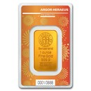 1 oz Gold Bar - Argor-Heraeus Year of the Ox (In Assay)