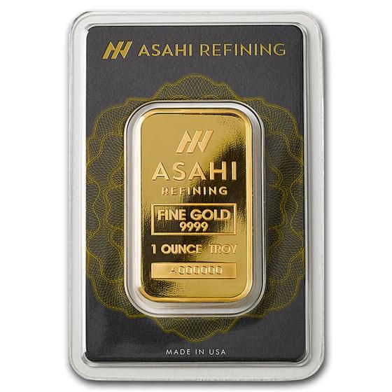 1 oz Gold Bar - Asahi (In Assay)