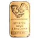 1 oz Gold Bar - Engelhard (Random Design)