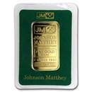 1 oz Gold Bar - Johnson Matthey (Random Design, In Assay)