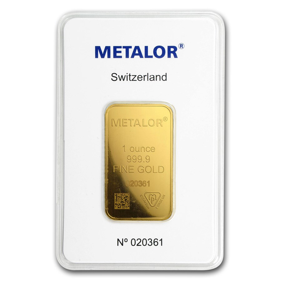 1 oz Gold Bar - Metalor (In Assay)