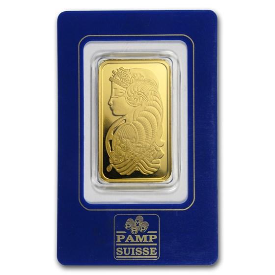 1 oz Gold Bar - PAMP Suisse (Vintage Assay)