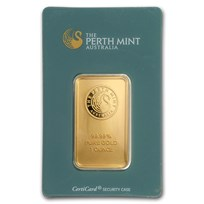 1 oz Gold Bar - The Perth Mint (Classic Assay)