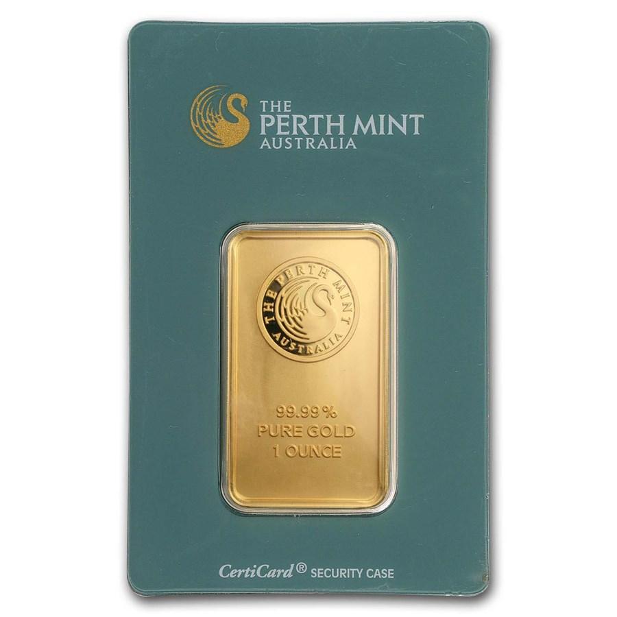 1 oz Gold Bar - The Perth Mint (Classic Assay)