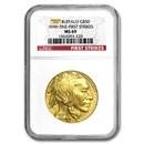1 oz Gold Buffalo MS-69 NGC (Random Year)