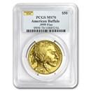 1 oz Gold Buffalo MS-70 PCGS (Random Year)