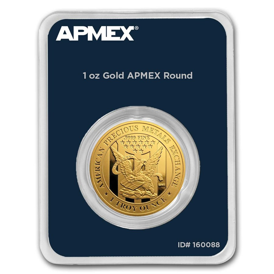 1 oz Gold Round - APMEX (In TEP Package)