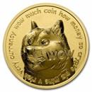 1 oz Gold Round - Dogecoin Round