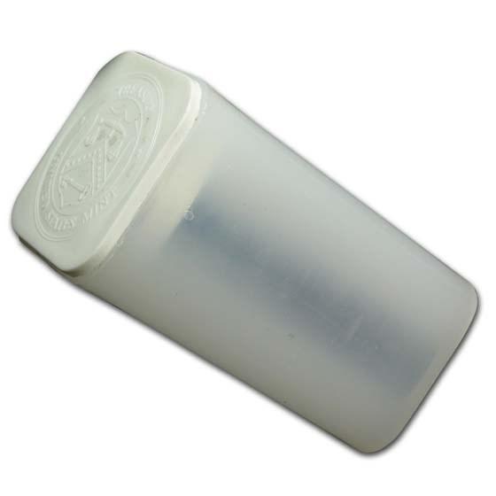 1 oz Platinum American Eagle Coin Tubes (Slightly Used, White)