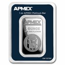 1 oz Platinum Bar - APMEX (TEP)