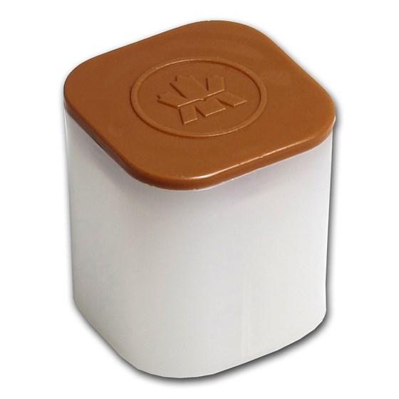 1 oz Platinum Maple Leaf Coin Tube (Brown)