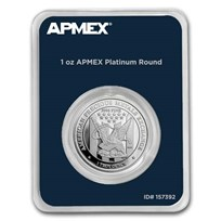 1 oz Platinum Round - APMEX (In TEP Package)