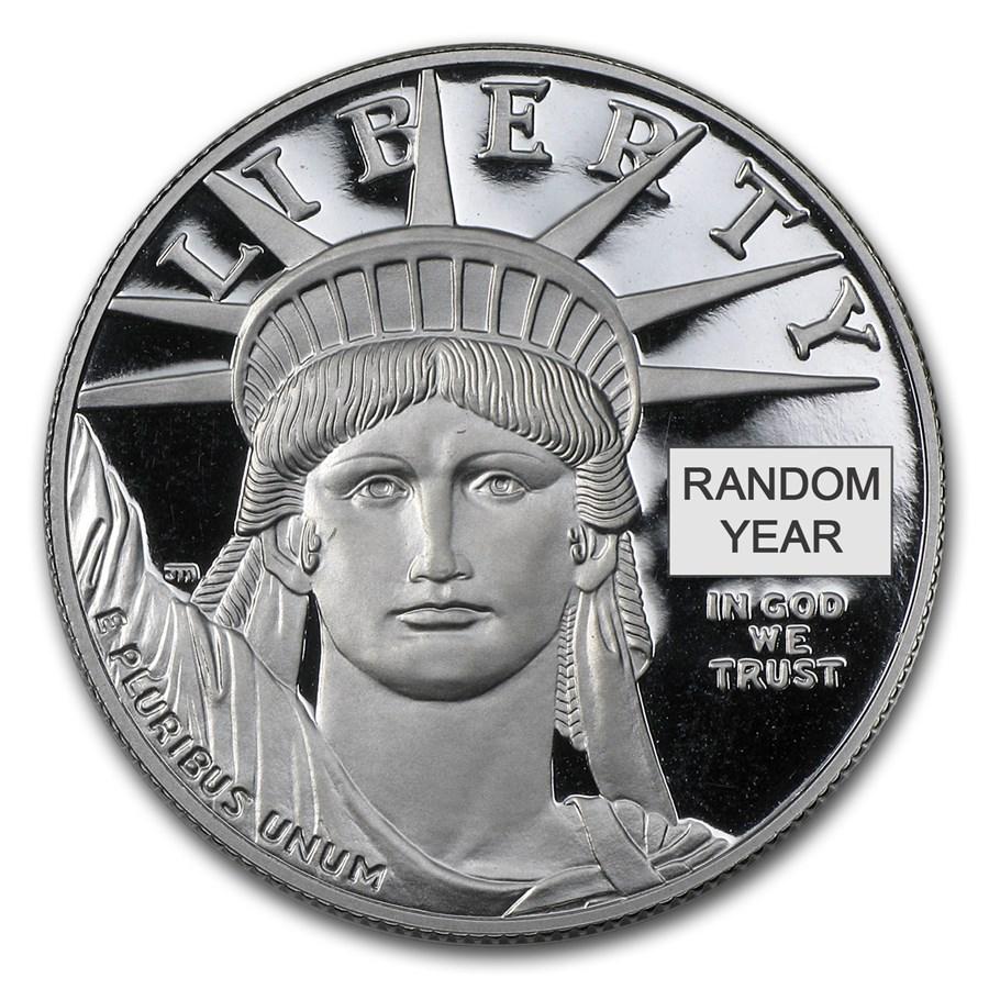 1 oz Proof American Platinum Eagle (Random Year, Capsule Only)