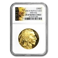 1 oz Proof Gold Buffalo PF-69 NGC (Random Year)