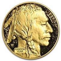 1 oz Proof Gold Buffalo (Random Year, Capsule Only)