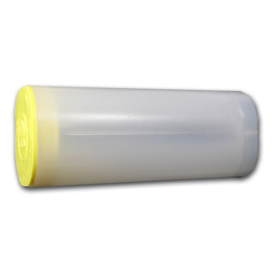 1 oz RCM Silver Maple Leaf Coin Tubes (Yellow Top)