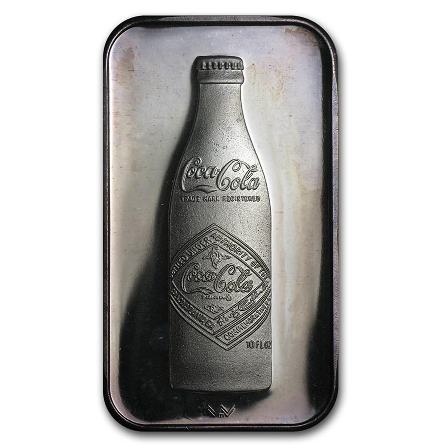 1 oz Silver Bar - Coca Cola (Atlanta, GA)