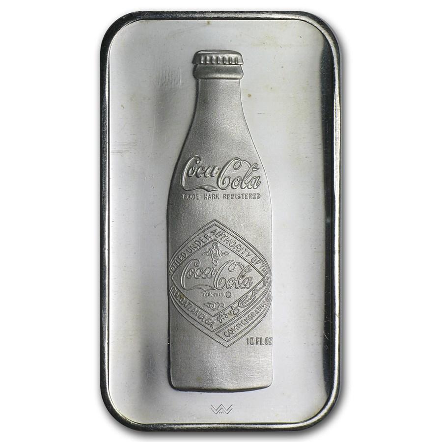 1 oz Silver Bar - Coca Cola (Chattanooga, TN)