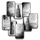 1 oz Silver Bar - Coca Cola (Random Motif)