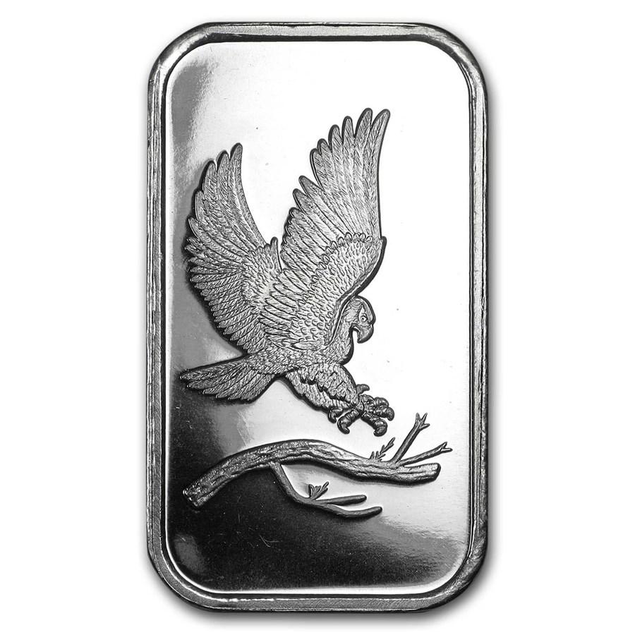 1 oz Silver Bar - SilverTowne Eagle
