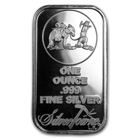 1 oz Silver Bar - SilverTowne