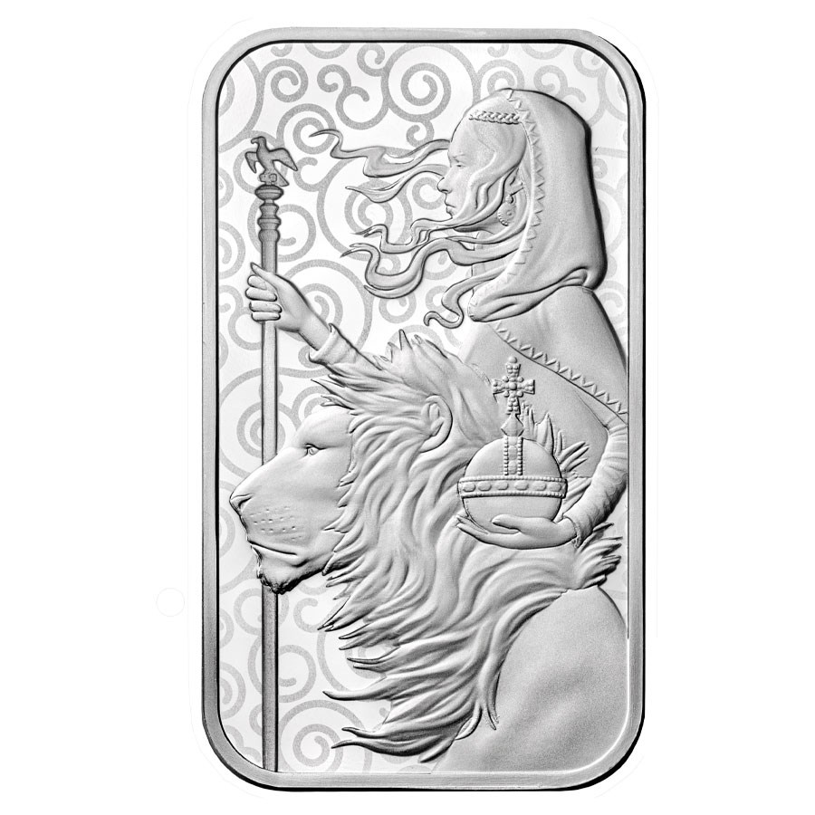 1 oz Silver Bar - The Royal Mint Una and the Lion