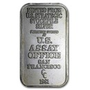 1 oz Silver Bar - U.S. Assay Office