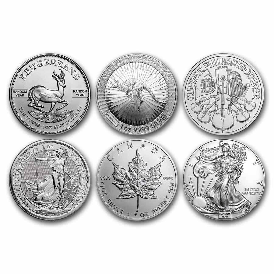1 oz Silver Coin - Random Mint