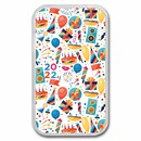 1 oz Silver Colorized Bar - APMEX (Birthday Funfetti)