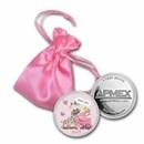 1 oz Silver Colorized Round - APMEX (2020 Baby Girl Giraffe)