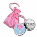 1 oz Silver Colorized Round - APMEX (2020 Bundle of Joy Girl)