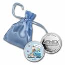 1 oz Silver Colorized Round - APMEX (2021 Baby Boy Giraffe)